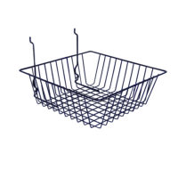 Black Small Double Sloping Basket