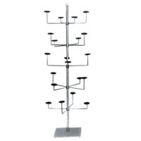 Floor Hat Stand: Chrome