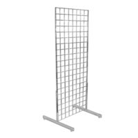 Gridwall with T-Leg Base 2'x6'