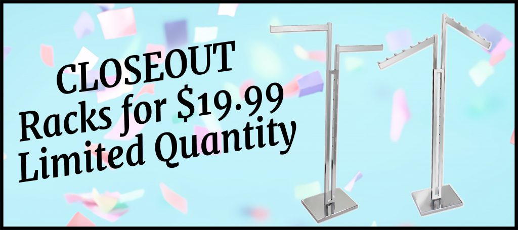 2 Way Racks- Limited Quantities SLIDE for Rack Section 768x341