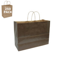 Chocolate Vogue Paper Shopping Bag-Case 250