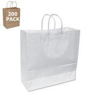 White Classic Size Shopping Bag-Case 200