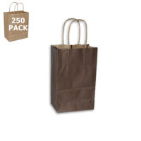 Chocolate Gem Paper Shopping Bag-Case 250