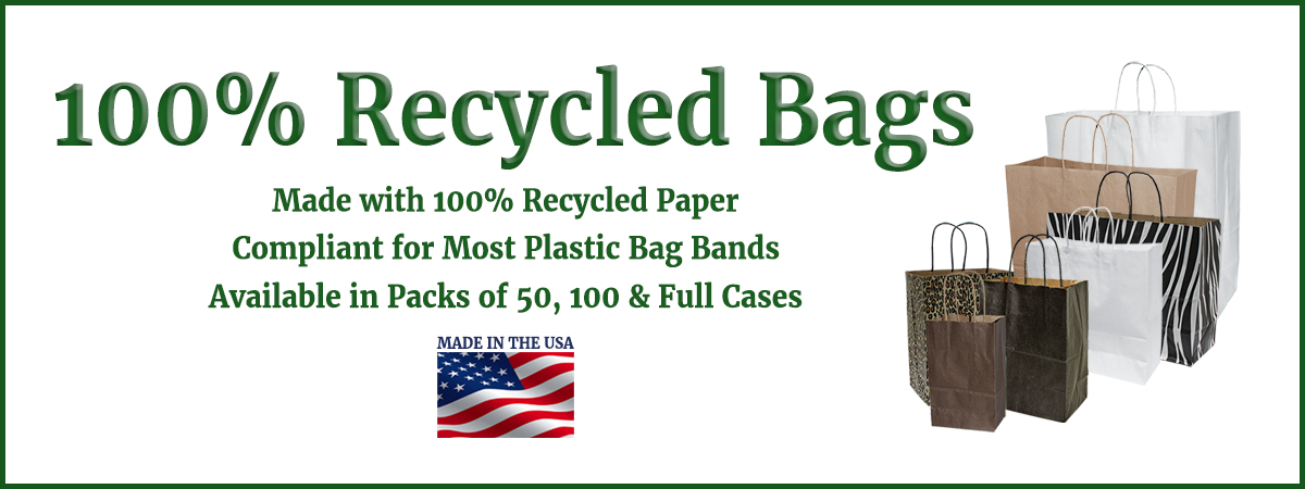 100 % Recycled Bag Image