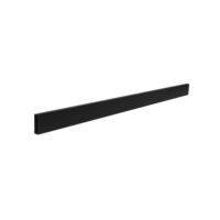 2 Foot Long Rectangular Tubing. Black 4 Foot Long Rectangular Tubing