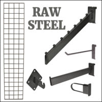 SHOP BY COLOR: Raw Steel