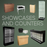 Showcases, Counters, & Knockdown Displays