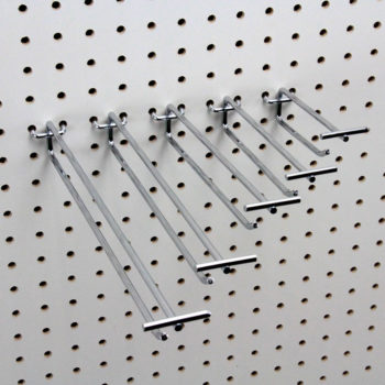 Pegboard Scanner Flip-End Hooks
